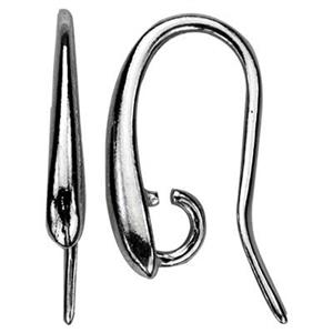 SA590: Sterling Silver Heavy Tapered Earwire