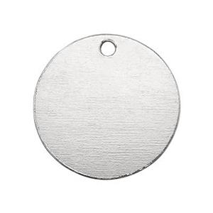 SB09: Sterling Silver Stamping Blank Circle