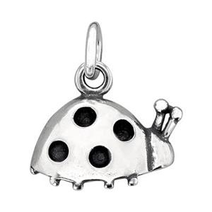 SC722: Sterling Silver Ladybug Charm