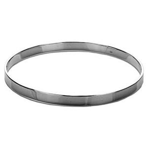 SCA654: Sterling Silver 5mm Flat Bangle