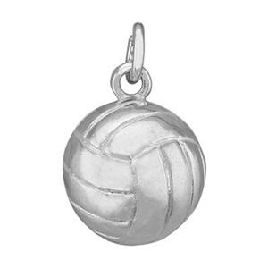 SD111: Sterling Silver Volleyball Charm