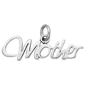 SD512: Sterling Silver Mother Charm