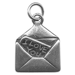 SD664: Sterling Silver Love Letter Charm