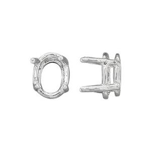SEF1875: 7x5 Oval 4-Prong Setting Head