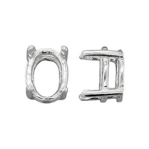 SEF1886: 8x6 Oval 4-Prong Setting Head