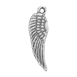SH216: Sterling Silver Wing Charm