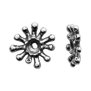 SH252: Sterling Silver Star Heishe Spacer