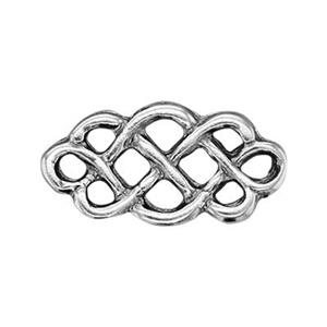 SH483: Sterling Silver Knot Link