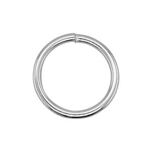 SJ1010: Sterling Silver 10mm Open Jump Ring