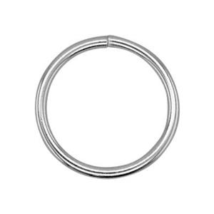 SJ1012: Sterling Silver 12mm Open Jump Ring
