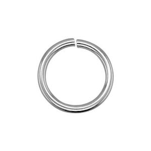 SJ109: Sterling Silver 8.9mm Open Jump Ring