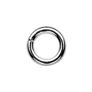 SJ117: Sterling Silver 7mm Open Jump Ring