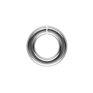 SJ137: Sterling Silver 7mm Open Jump Ring