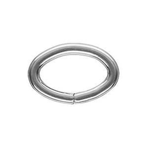 SJ590: Sterling Silver Oval Open Jump Ring
