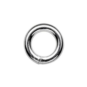 SJSR1075: Sterling Silver 7.5mm Soldered Jump Ring