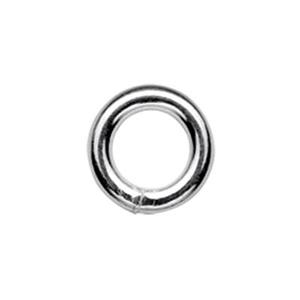 SJSR107: Sterling Silver 7mm Soldered Jump Ring