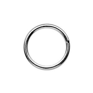 SJSR88: Sterling Silver 8mm Soldered Jump Ring