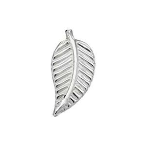 SL125R: Sterling Silver Right Vein Leaf Solder Ornament