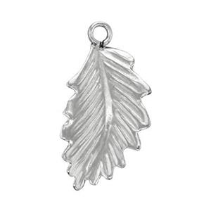 SL1332R: Sterling Silver Right Side Leaf Charm