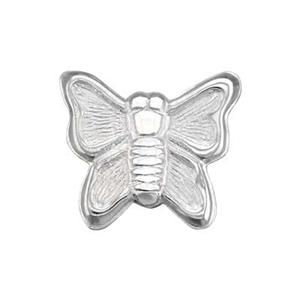 SL149: Sterling Silver Butterfly Solder Ornament