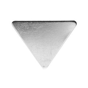 SL257: Sterling Silver Triangle Blank