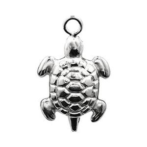SL784: Sterling Silver Turtle Charm
