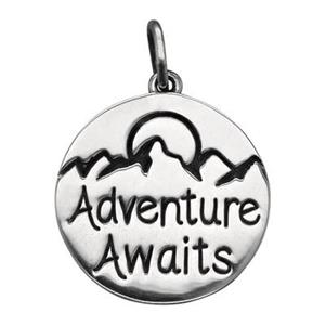 SN409: Sterling Silver Adventure Awaits Charm