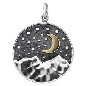 SN617: Layered Night Sky Pendant