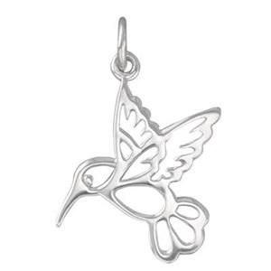 SN632: Medium Hummingbird Cutout Charm