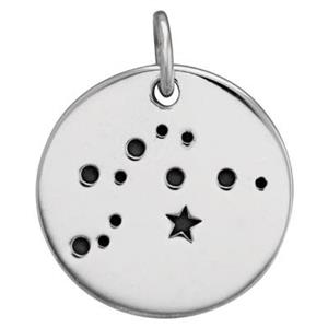 SN683: Aquarius Zodiac Constellation Charm