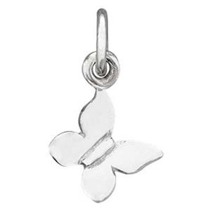 SN8104: Sterling Silver Butterfly Charm