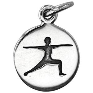 SN812: Yoga Warrior Pose Charm