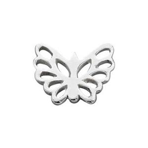 SN998: Sterling Silver Butterfly Cutout Soldering Ornament