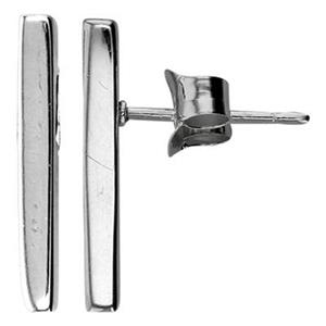 SNE75: Sterling Silver Bar Post Earrings