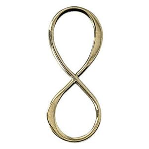SNGS264: Sterling Silver Shiny Infinity Link