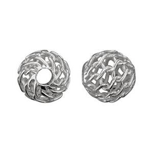 SQ102: Sterling Silver Mesh Wire Bead