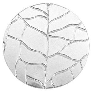SQ173: Veined Leaf Pattern Circle