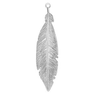 SQ299: Feather Pendant