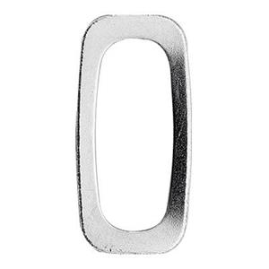 SQ31: Sterling Silver Modern Rectangle Link