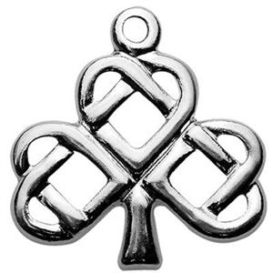SQ694: Sterling Silver Celtic Tree Charm