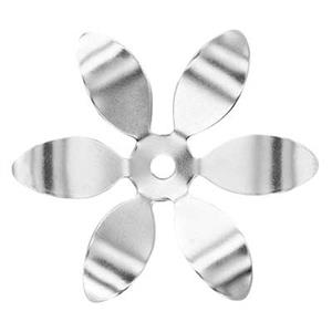 SQ764: Sterling Silver Shaped Flower Petals