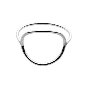 SR217: Sterling Silver 1mm Stacking Ring