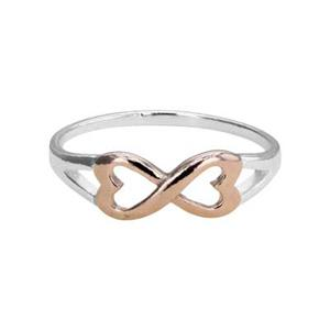 SR288: Sterling Silver Infinity Ring