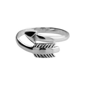 SR331: 2.4mm Adjustable Finger Ring with 13.2x9.9mm Arrow
