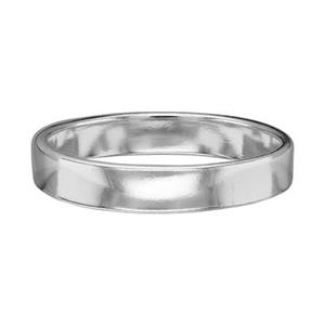 SR4210: Sterling Silver 4mm Ring Band