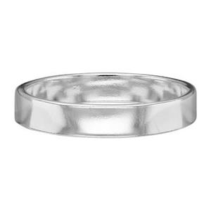 SR4211: 4mm Plain Ring Band, Size 11
