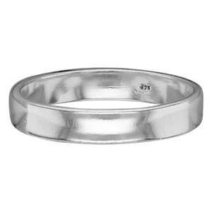 SR4212: Sterling Silver 4mm Ring Band