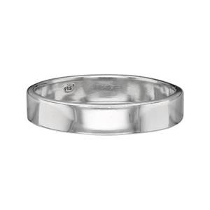 SR429: Sterling Silver 4mm Ring Bands