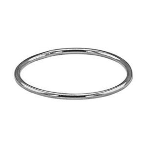 SR4510: Sterling Silver Wire Stacking Finger Ring