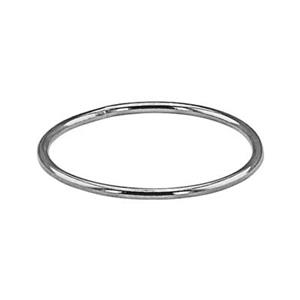 SR459: Sterling Silver Wire Stacking Finger Ring